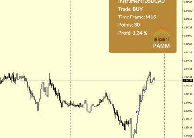 USDCAD Buy +30 p.