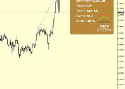 USDCHF Buy +13.3 p.